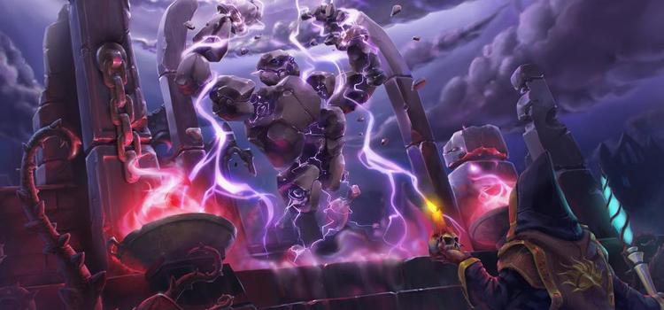 Conjuring Storm Atronach fanart by Yavados