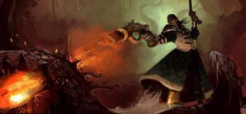 Multiclass Gunslinger/Bloodhunter character in D&D