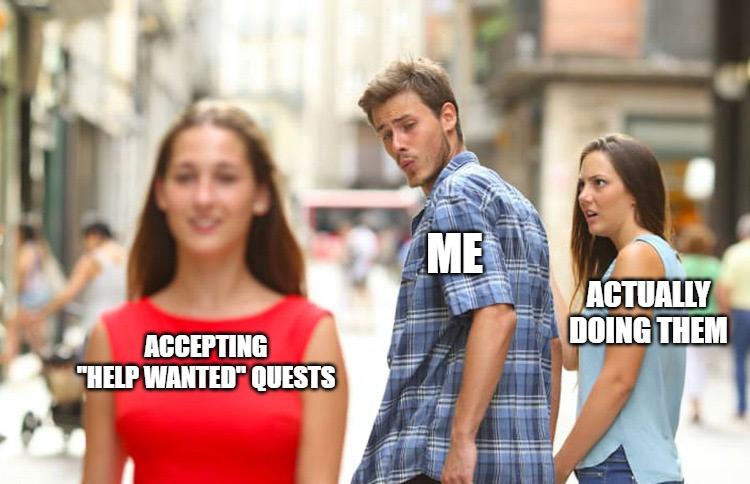 Stardew Valley quest memes