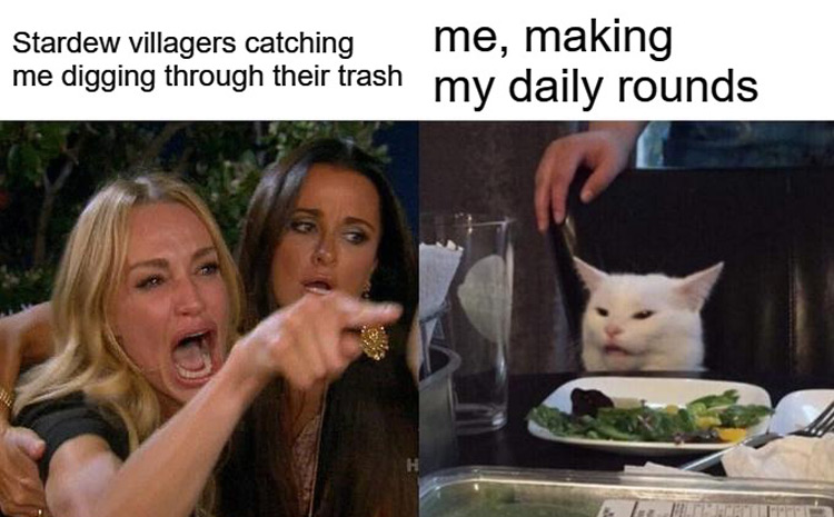 Me making daily rounds meme