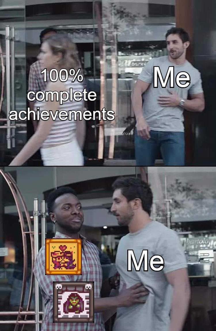 Stardew 100% completion meme