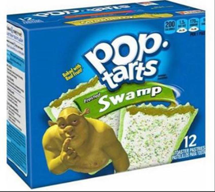 Pop tarts Swamp Shrek meme