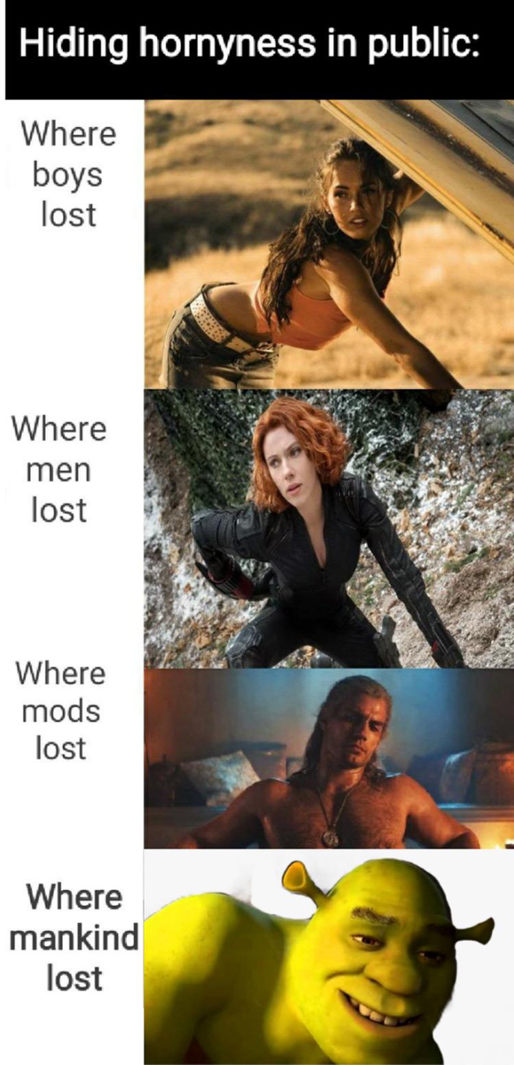 Where mankind lost meme