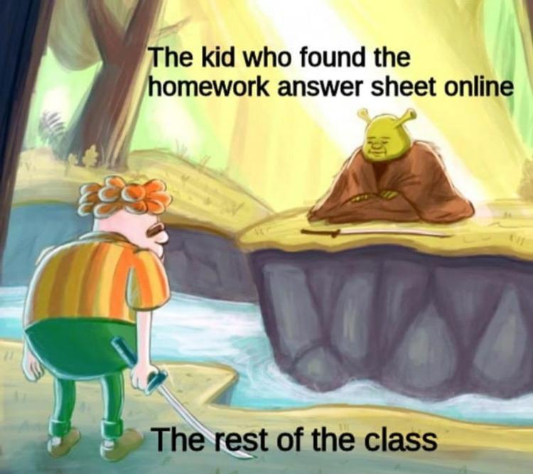 Rest of class homework sheet online