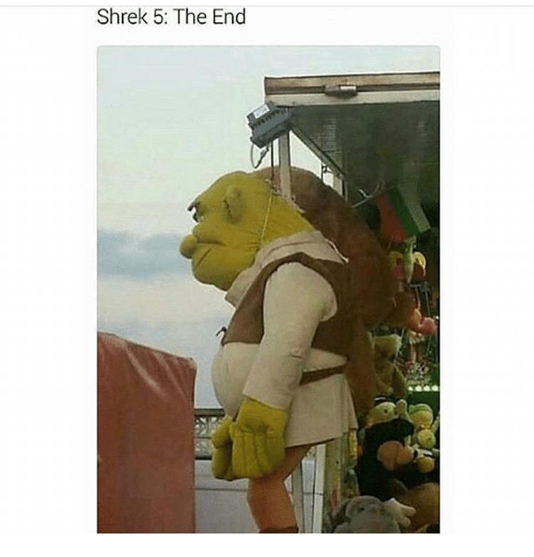 Shrek 5: The End meme