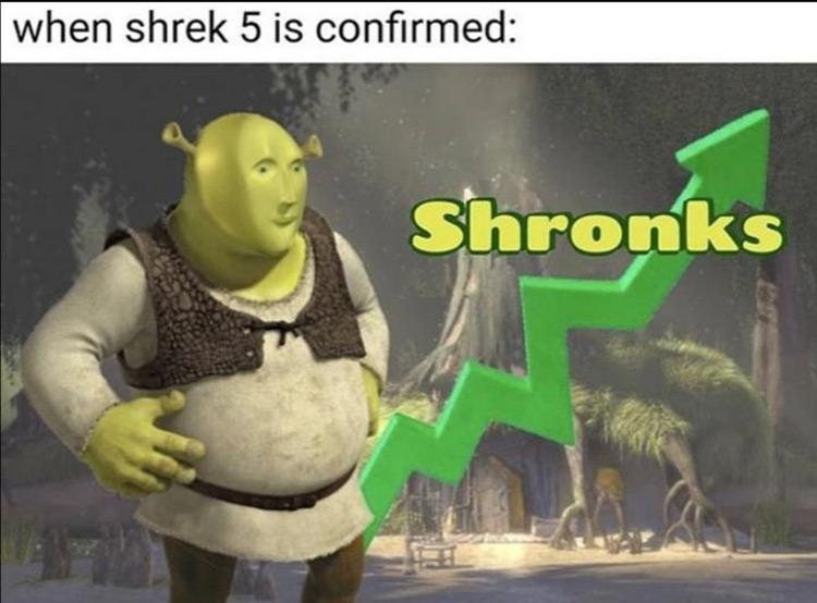 Shronks going up meme