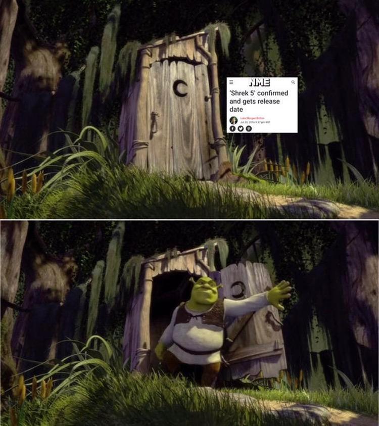 Shrek 5 confirmed release date meme