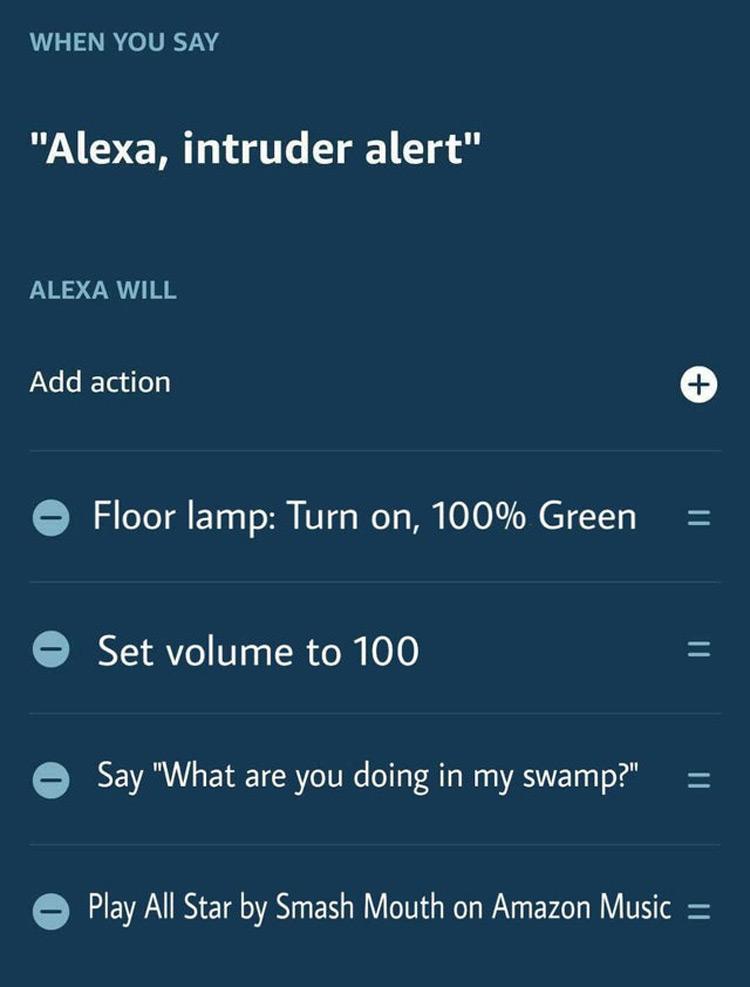 Alexa play Shrek all star meme