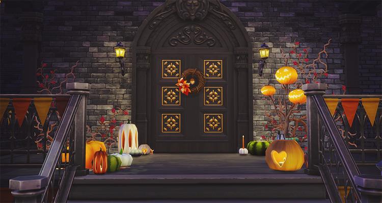 Halloween Pumpkins Sims 4 CC screenshot