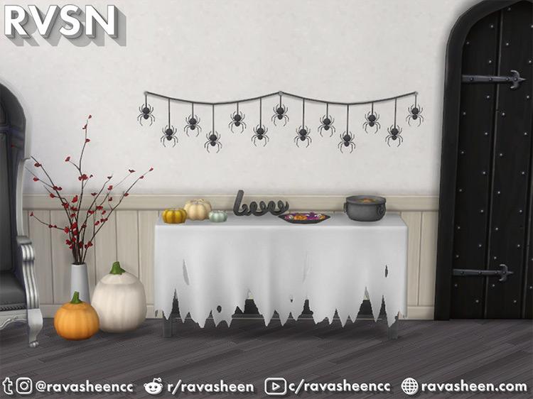 Creep It Real Halloween Decor Sims 4 CC