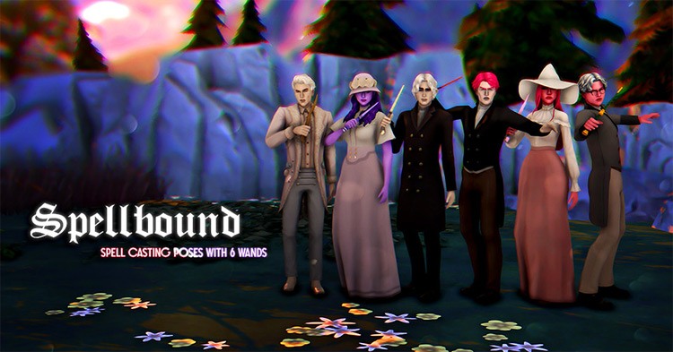 Spellbound Sims 4 CC screenshot