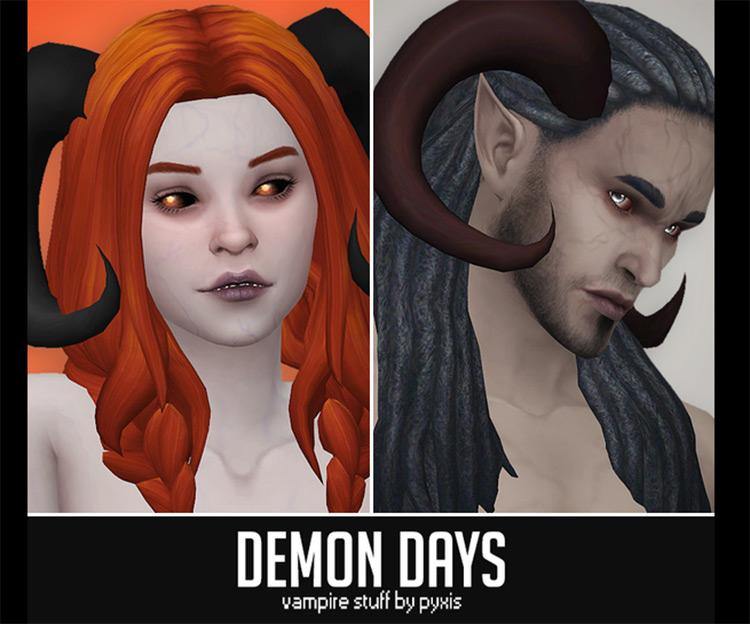 Demon Days Vampire Stuff CC for Sims 4