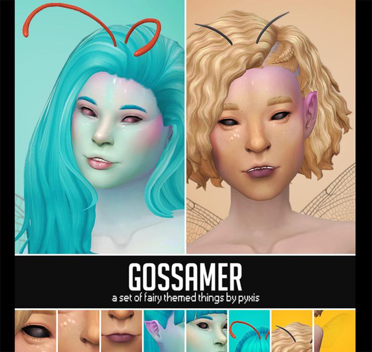 Gossamer Fairy Stuff Sims 4 CC