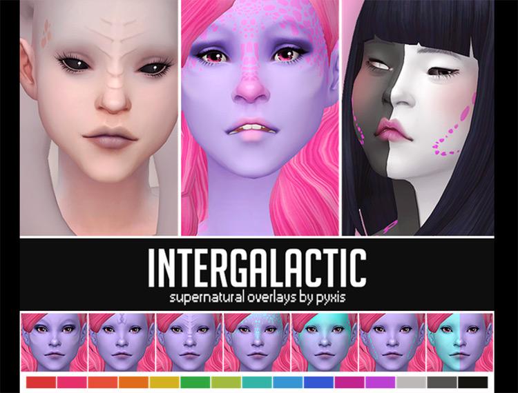 Intergalactic Supernatural Overlays Sims 4 CC