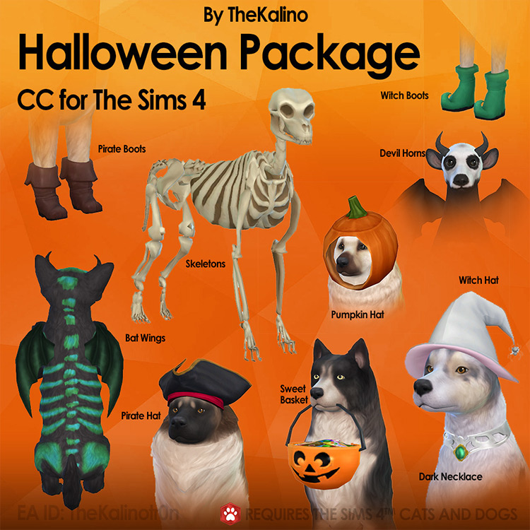 Halloween Package Sims 4 CC screenshot