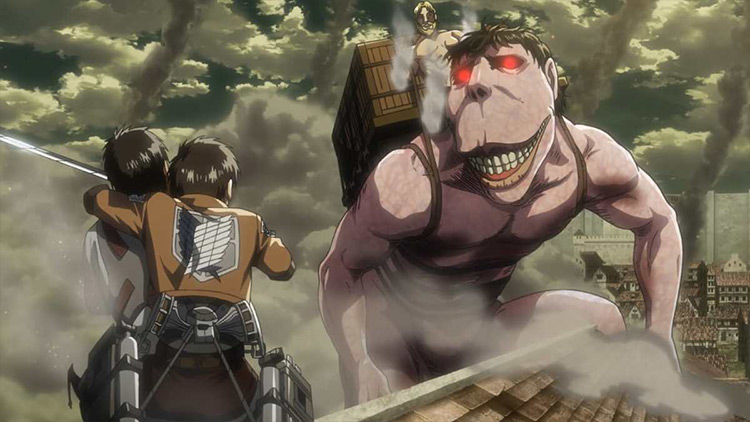 Attack on Titan WIT Studio anime screenshot