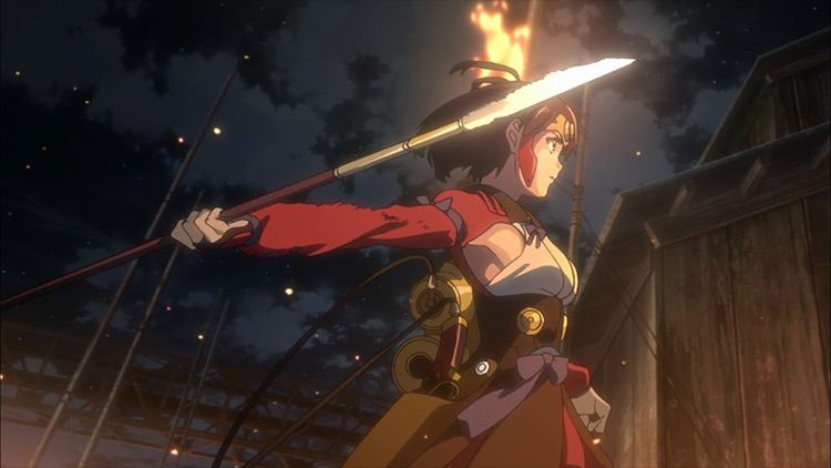 Kabaneri of the Iron Fortress WIT Studio anime