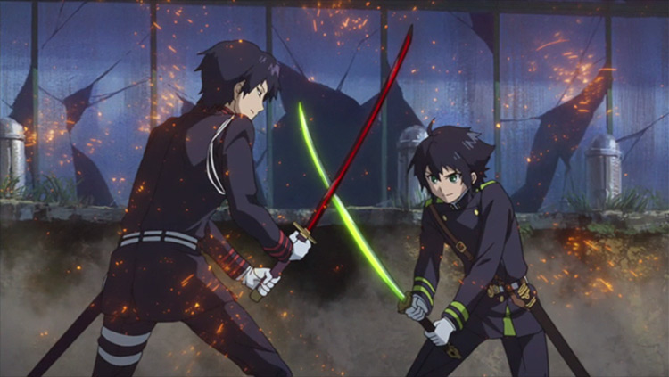 Seraph of the End WIT Studio anime screenshot