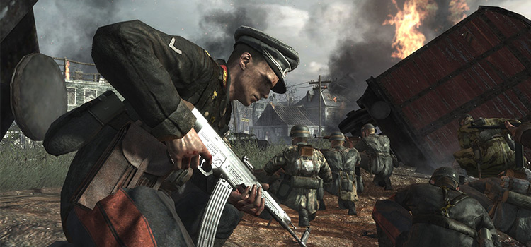 Axis Player Expanded for CoD World At War