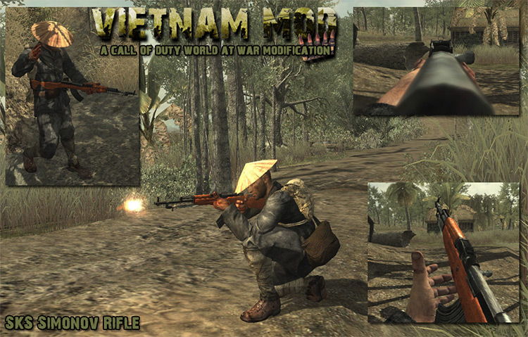 Vietnam Mod for Call of Duty: World at War