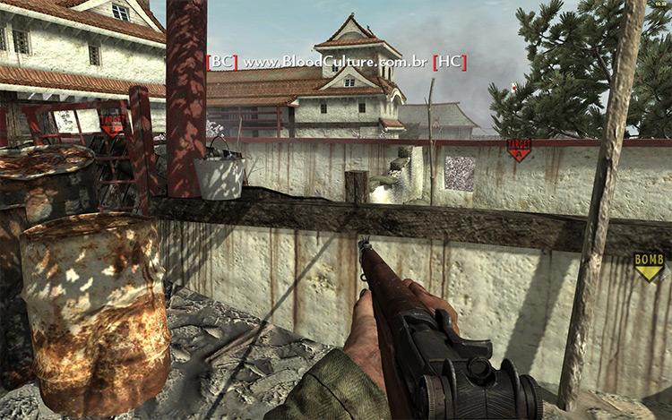 W@W Frontlines Call of Duty mod screenshot