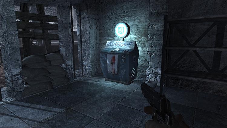 Naucht Der Untoten with Perks Call of Duty: World at War mod