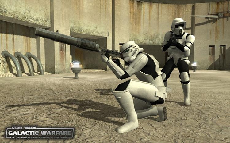 Star Wars Mod: Galactic Warfare Call of Duty 4: Modern Warfare