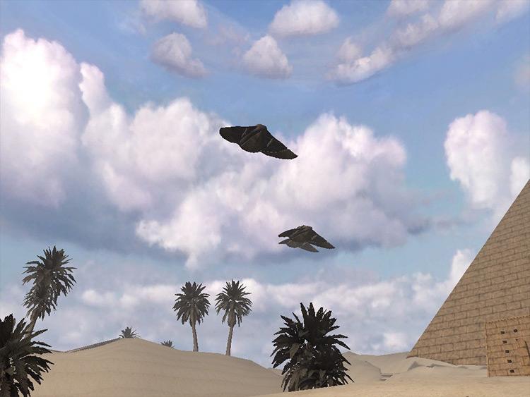 The Stargate CoD4 Modern Warfare mod screenshot