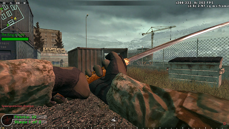 Kill the King Call of Duty 4: Modern Warfare mod