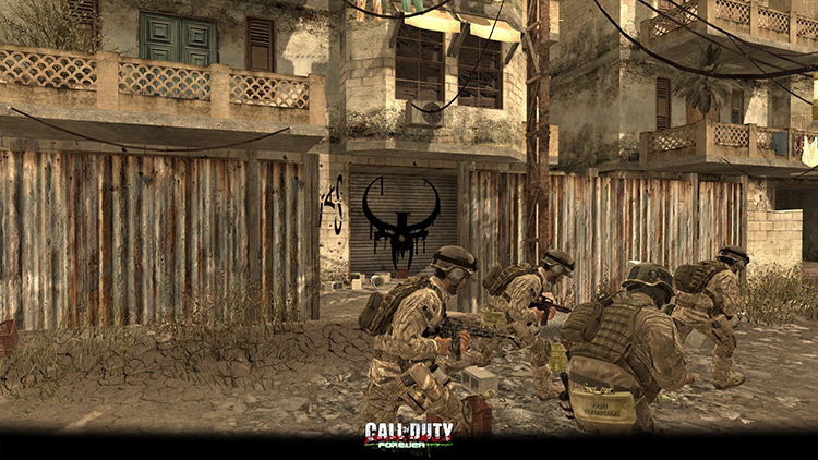 Frontlines FOREVER Call of Duty 4: Modern Warfare mod