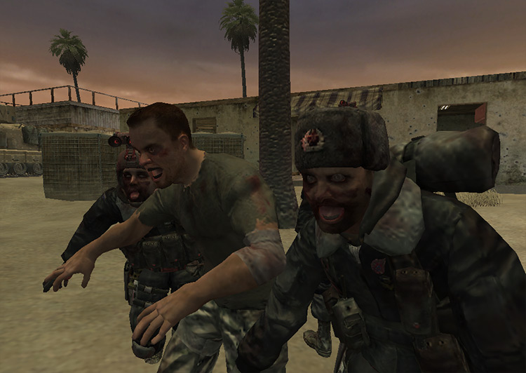 Reign of the Undead mod for Call of Duty 4: Modern Warfare