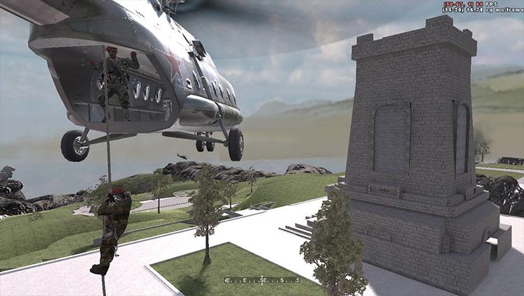 Operation Cinema: Beyond Modern Warfare Call of Duty 4: Modern Warfare mod