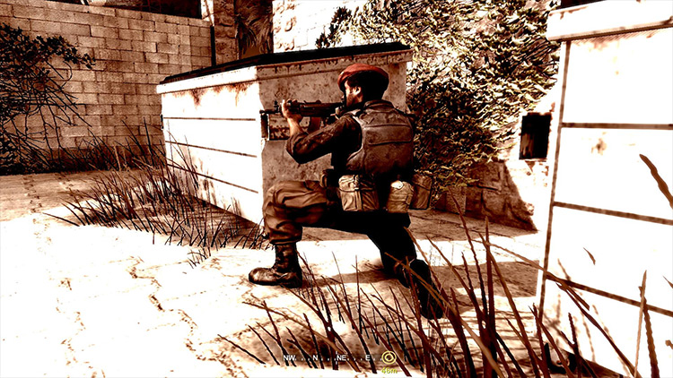A Call of Duty SP Mission:Rush mod screenshot