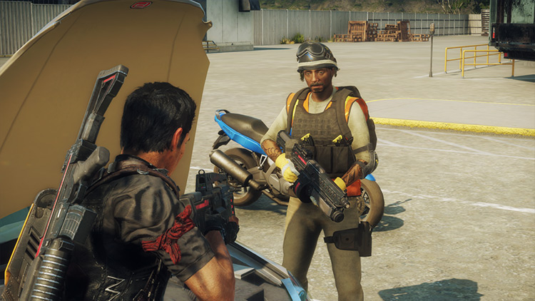 Loaded Rebels Just Cause 4 mod