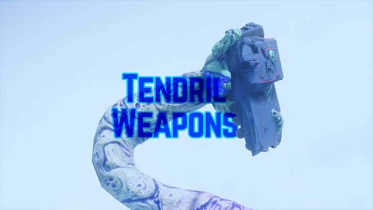 Tendril Weapons Just Cause 4 mod