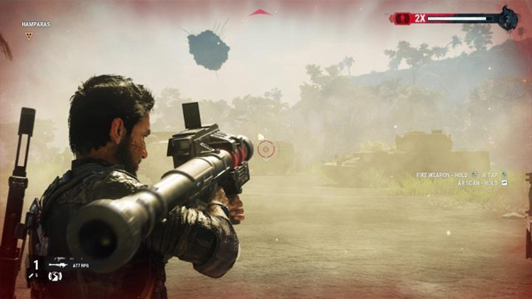 Boulder Bazooka mod for Just Cause 4