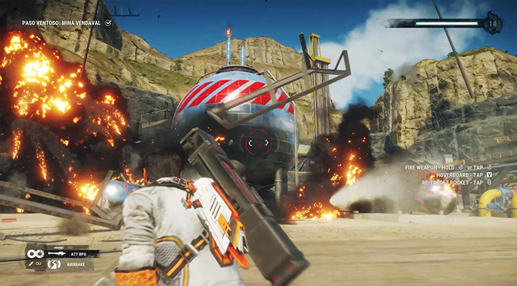 Portable Cannons Just Cause 4 mod screenshot