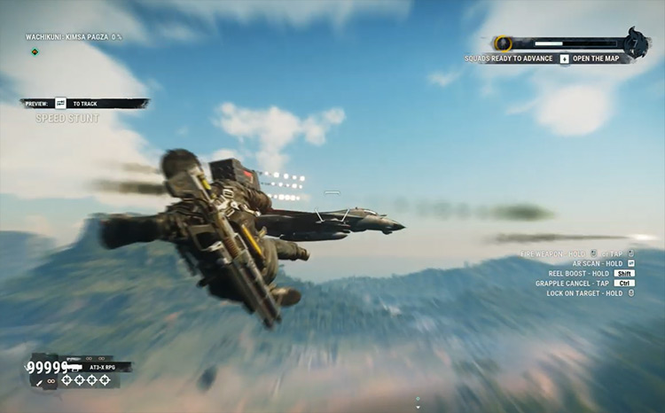 Infinite Ammo mod for Just Cause 4