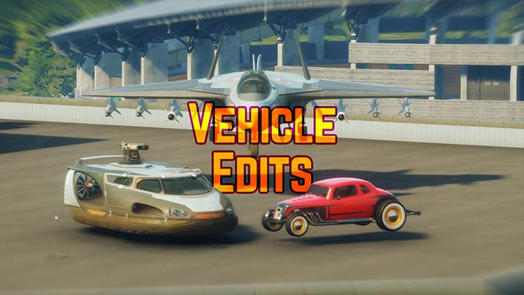 Vehicle Edits Just Cause 4 mod screenshot