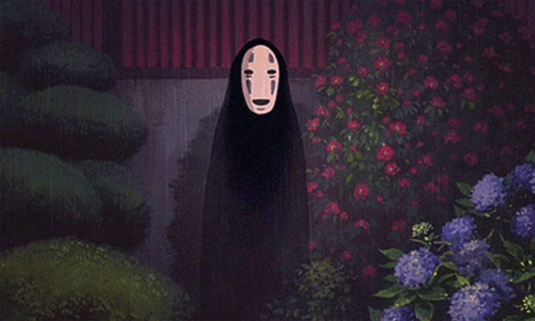 No Face from Spirited Away Studio Ghibli anime