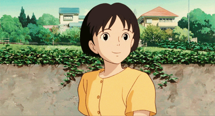 Shizuku Tsukishima Whisper of the Heart Studio Ghibli anime