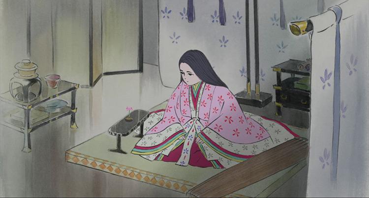 Princess Kaguya from The Tale of the Princess Kaguya
