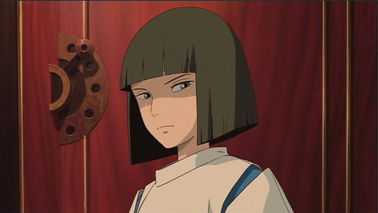 Haku Spirited Away Studio Ghibli anime screenshot