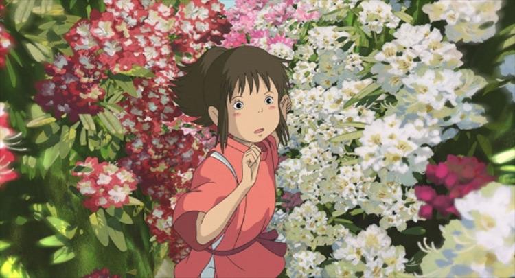 Chihiro from Spirited Away Studio Ghibli anime