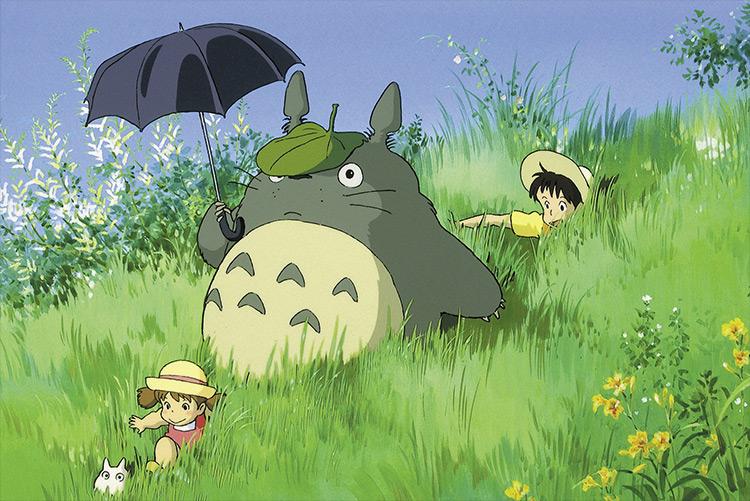 Totoro from My Neighbor Totoro Studio Ghibli screenshot