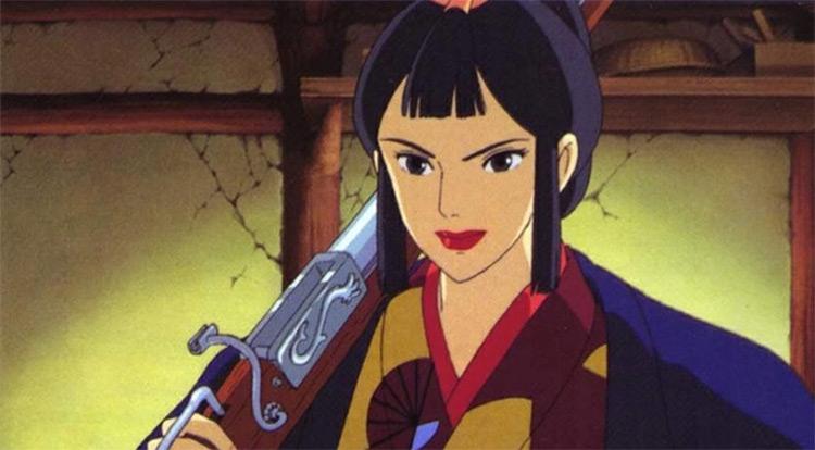 Lady Eboshi from Princess Mononoke anime
