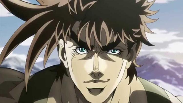 Joseph Joestar JoJo's Bizarre Adventure anime