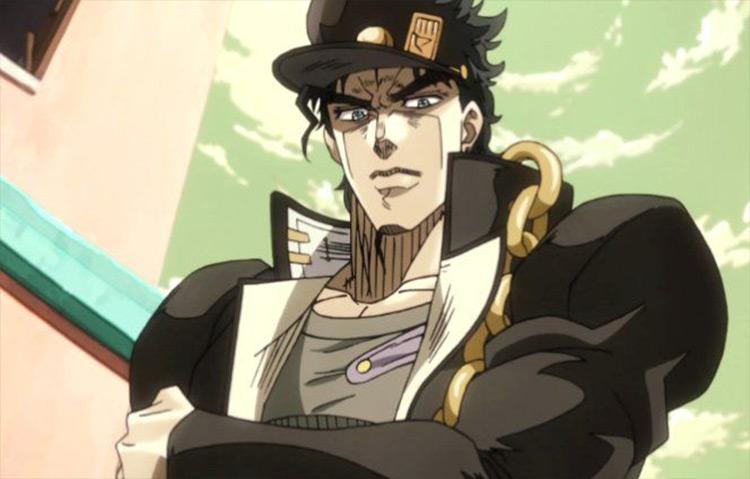 Jotaro Kujo from JoJo's Bizarre Adventure anime