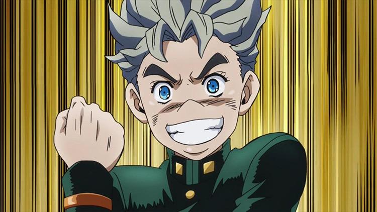Koichi Hirose JoJo's Bizarre Adventure anime screenshot