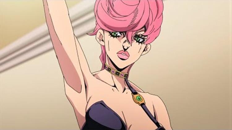 Trish Una from JoJo's Bizarre Adventure anime